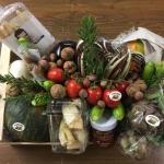 foto delle ceste natalizie di Moriconi Frutta e verdura punta marina terme Ravenna
